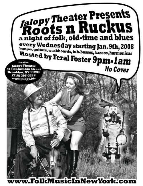 Roots 'n' Ruckus at Jalopy