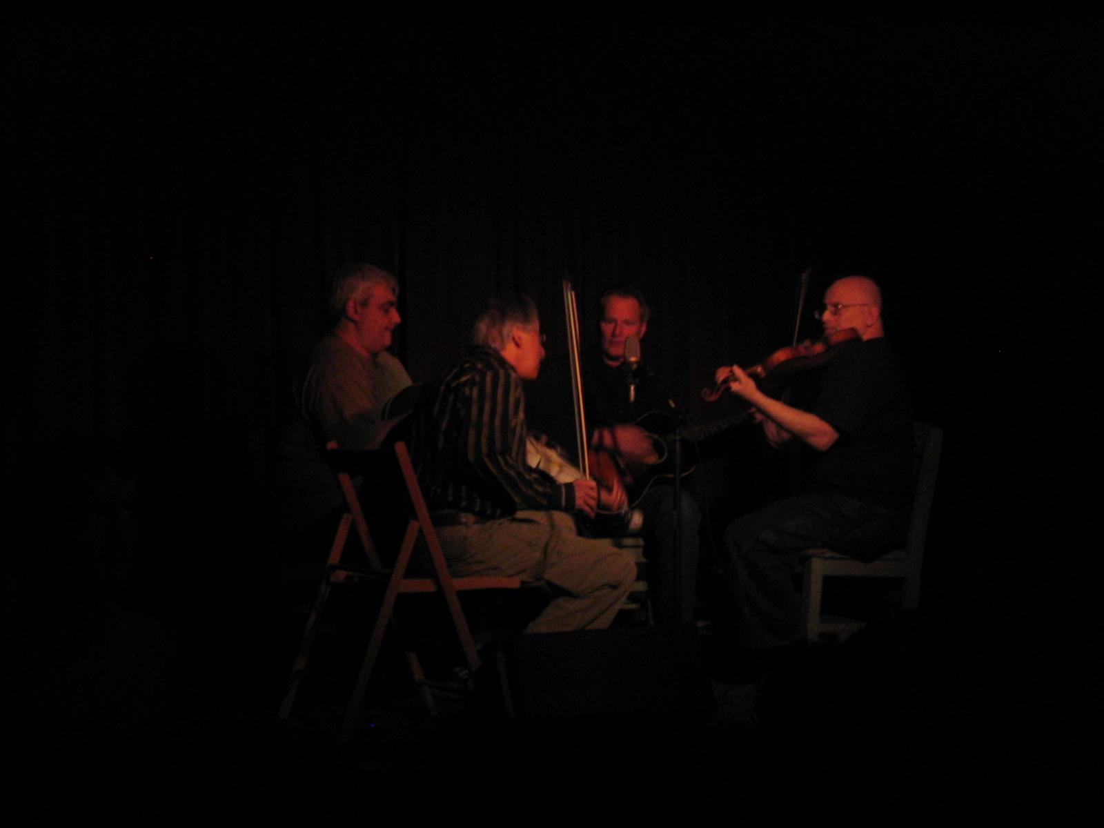 Peter Stampfel, Sam Shepard, Pat Conte, Citizen Kafka at Roots 'n' Ruckus Jalopy Feb 20 2008