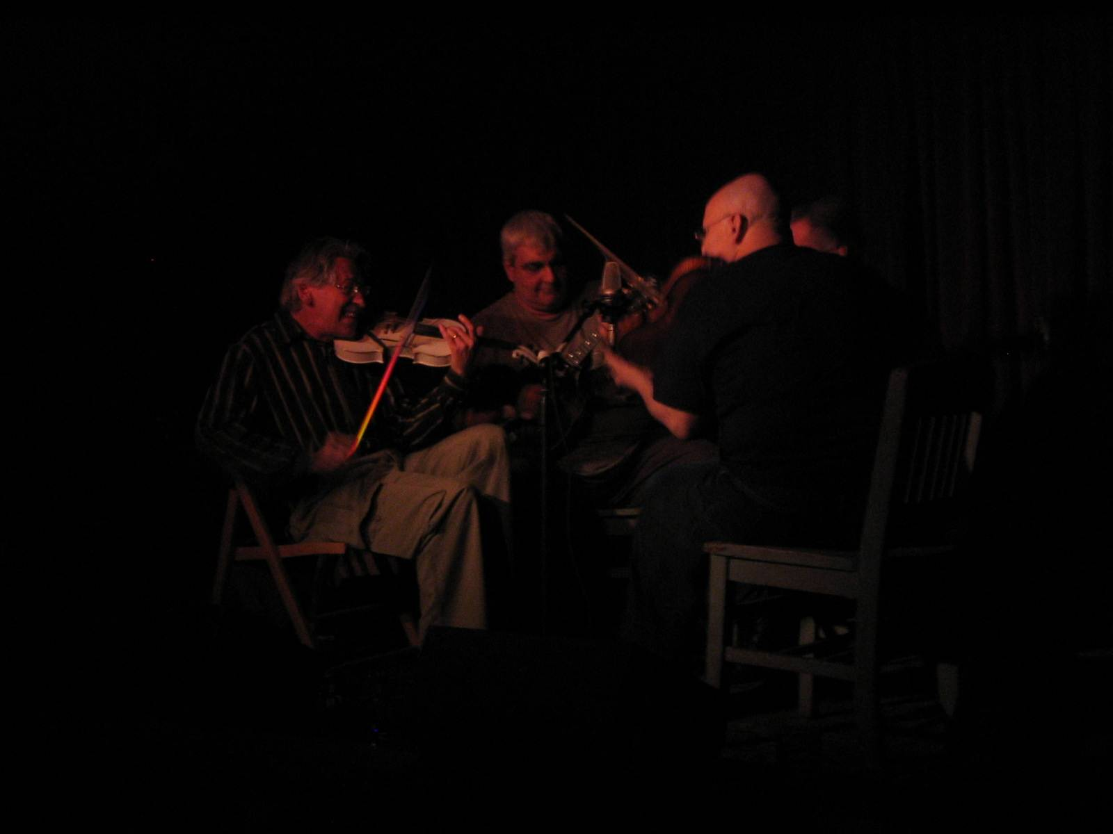 Peter Stampfel, Sam Shepard, Pat Conte, Citizen Kafka at Roots n Ruckus Jalopy Feb 20 2008