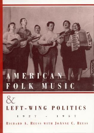 Pictured on the cover are The Almanac Singers
