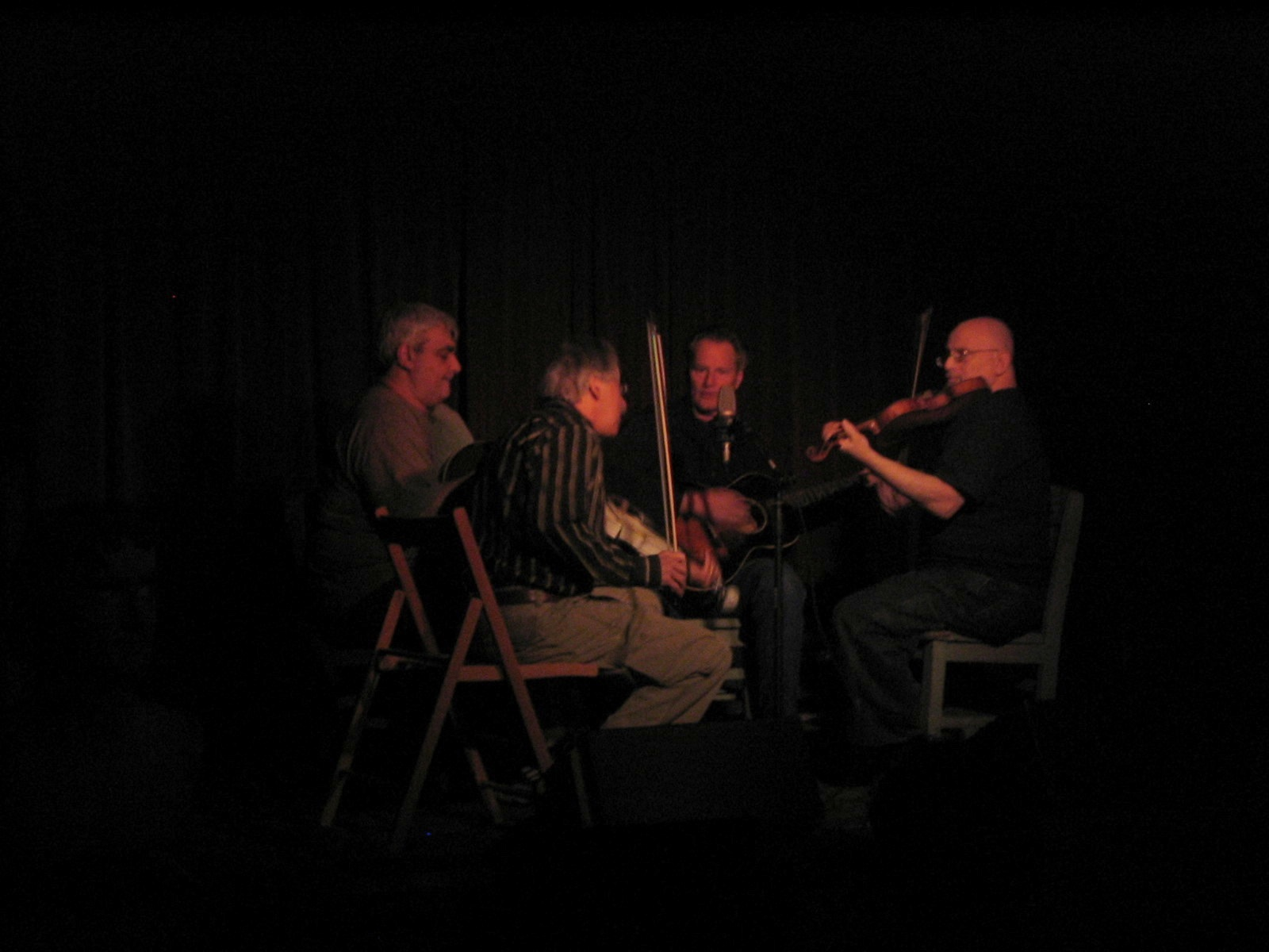 Peter Stampfel, Sam Shepard, Pat Conte, Citizen Kafka at Roots 'n' Ruckus Jalopy Feb 20 2008